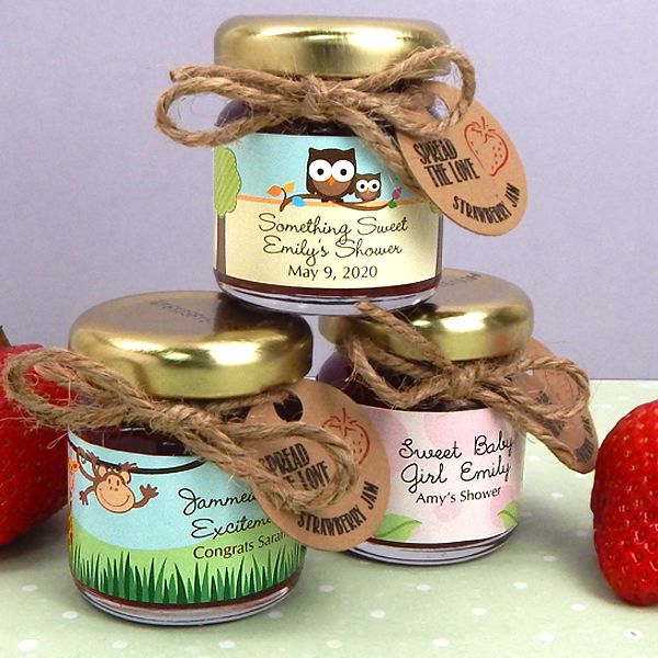 Baby Shower Favors Canada ~ Baby shower jam favors print canada store