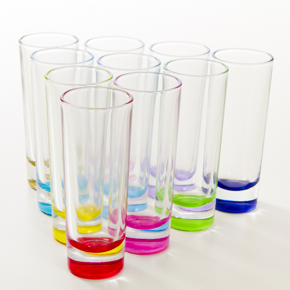 Personalized Coloured Shooter Glass Print Canada Store