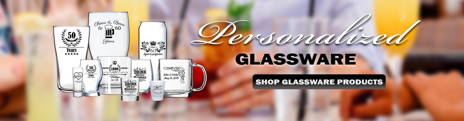 Rich Media Element - Personalized Glassware