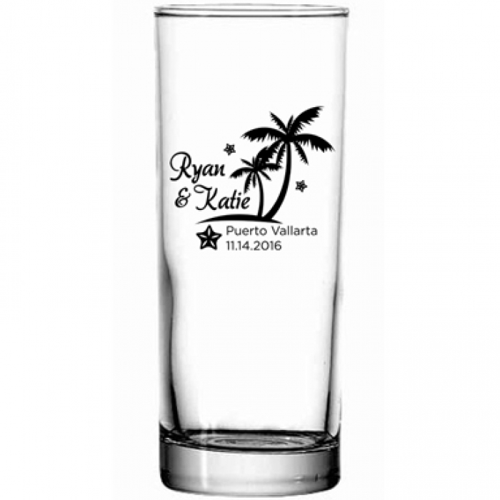 Personalized Collins Cocktail Glass Print Canada Store
